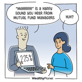 """Comic, """"MERRRRR"""" is a happy sound you hear from mutual fund managers"""